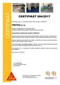 Podlahárske certifikáty