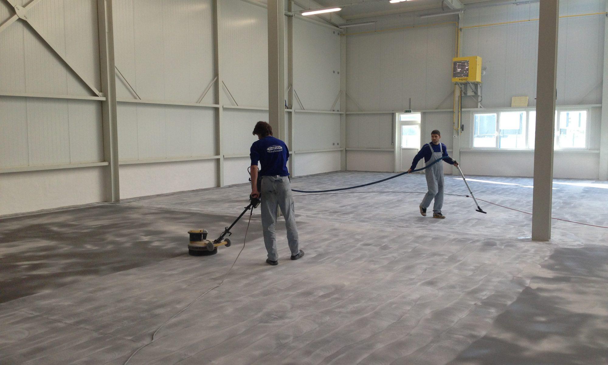 Priemyselné liate podlahy